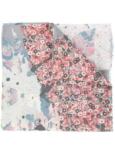 шарф с лоскутным узором Zadig & Voltaire