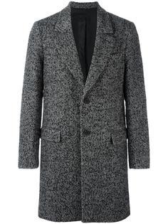 классическое пальто на две пуговицы Ami Alexandre Mattiussi