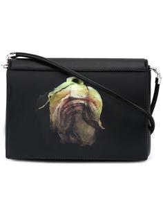 сумка на плечо с линзовидным элементом Christopher Kane