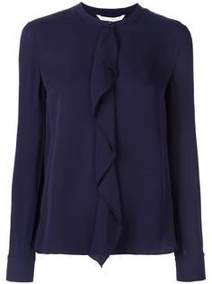 блузка с оборками Diane Von Furstenberg