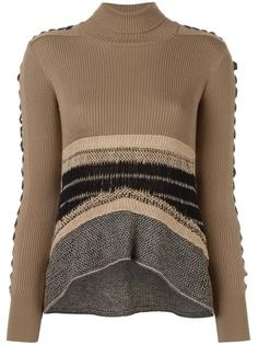 laced sleeve jumper Mame