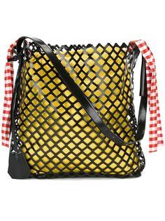 oversized netted shoulder bag Marques'almeida