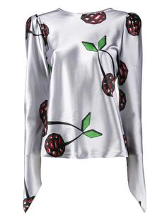 атласная блузка  Natasha Zinko