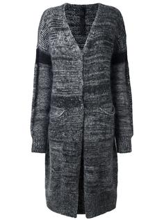 пальто-кардиган без застежки Ilaria Nistri