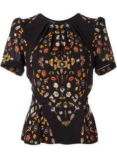 'Obsession' blouse Alexander McQueen