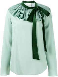 блузка с бантом Chloé
