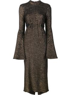 платье с металлическим отблеском Ellery