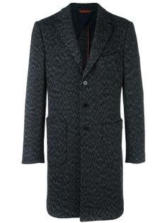 пальто с узором в елочку Missoni