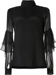 sheer panel blouse  Prabal Gurung