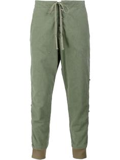 cropped track pants Greg Lauren