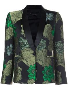 jacquard smoking jacket Christian Pellizzari