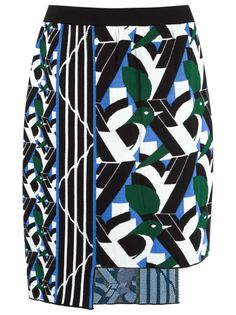 asymmetric knit skirt Gig