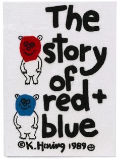 клатч 'The Story of Red and Blue' Olympia Le-Tan