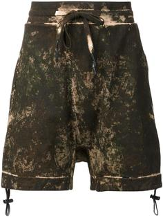 drop crotch sweatshorts 11 By Boris Bidjan Saberi