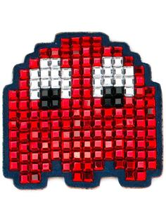 нашивка на сумку 'Space Invaders' Anya Hindmarch