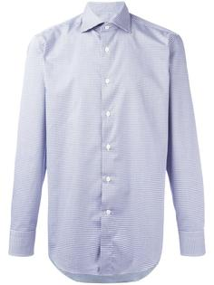 houndstooth pattern shirt Canali