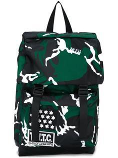 рюкзак с камуфляжным принтом KTZ