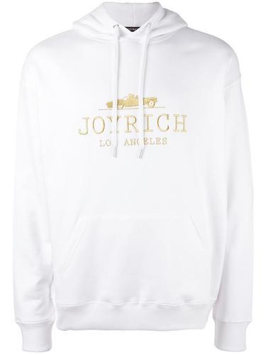 толстовка с вышивкой логотипа Joyrich