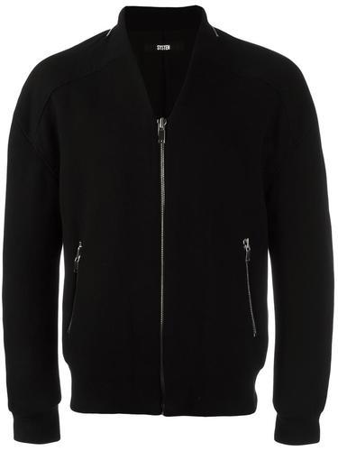 куртка-бомбер на молнии System Homme