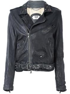 байкерская куртка с заклепками Pihakapi