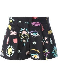 шорты с рисунком Boutique Moschino