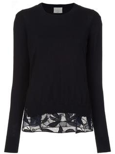 crew neck jumper Grey Jason Wu