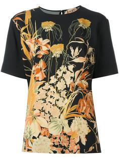 футболка с цветочным принтом Nº21