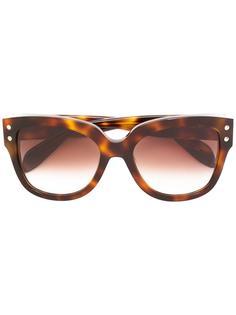 солнцезащитные очки с круглой оправой Alexander McQueen