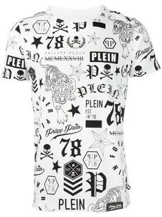 футболка 'So Black' Philipp Plein