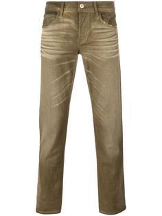джинсы с потертой отделкой Hudson