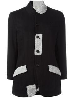 приталенный пиджак с заплатками Aleksandr Manamïs