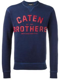 'Caten Brothers' sweatshirt Dsquared2