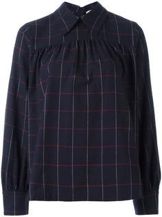 check long sleeve shirt Maison Kitsuné