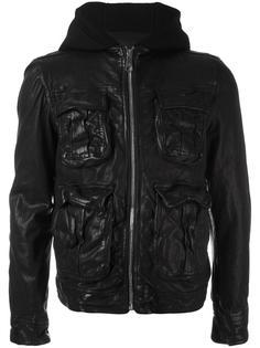 куртка с капюшоном и карманами Neil Barrett