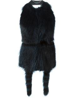 жилет с открытой спиной  Givenchy