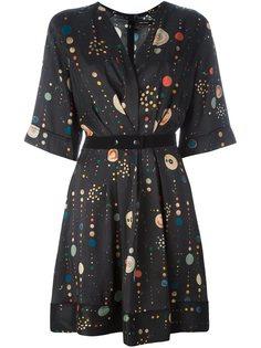 платье 'Odena' с узором Isabel Marant