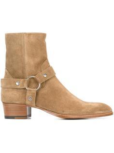 ботинки по щиколотку 'Classic Wyatt 40' Saint Laurent