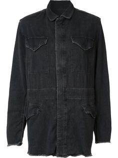 джинсовая куртка свободного кроя Rta