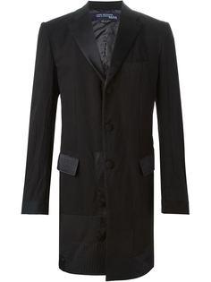 пальто в стиле пэчворк  Junya Watanabe Comme Des Garçons Man