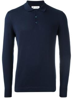 рубашка-поло с длинными рукавами Brunello Cucinelli