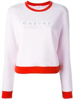 толстовка с принтом логотипа Carven