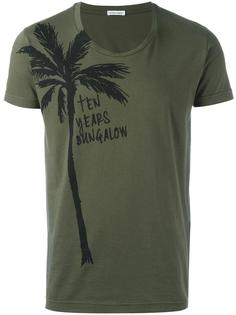 футболка с принтом пальмы Tomas Maier