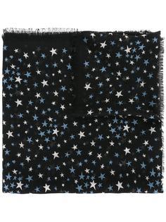 шарф с мелким рисунком 'Étoiles' Saint Laurent