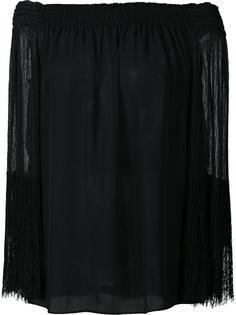 блузка с открытыми плечами Kobi Halperin