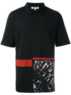 рубашка-поло с леопардовым принтом McQ Alexander McQueen