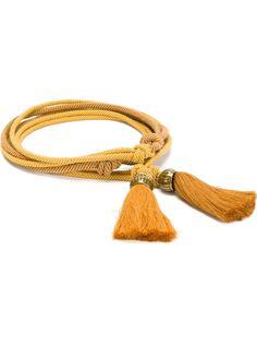 веревочный ремень с кисточками Lanvin