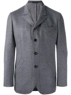 пиджак с прямоугольными лацканами Caruso
