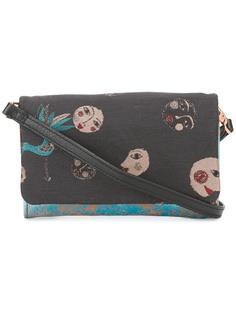 сумка через плечо с рисунком Cotélac