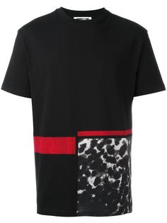 футболка с леопардовым принтом McQ Alexander McQueen