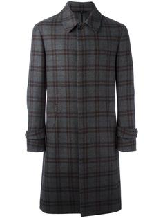 клетчатое пальто Hevo